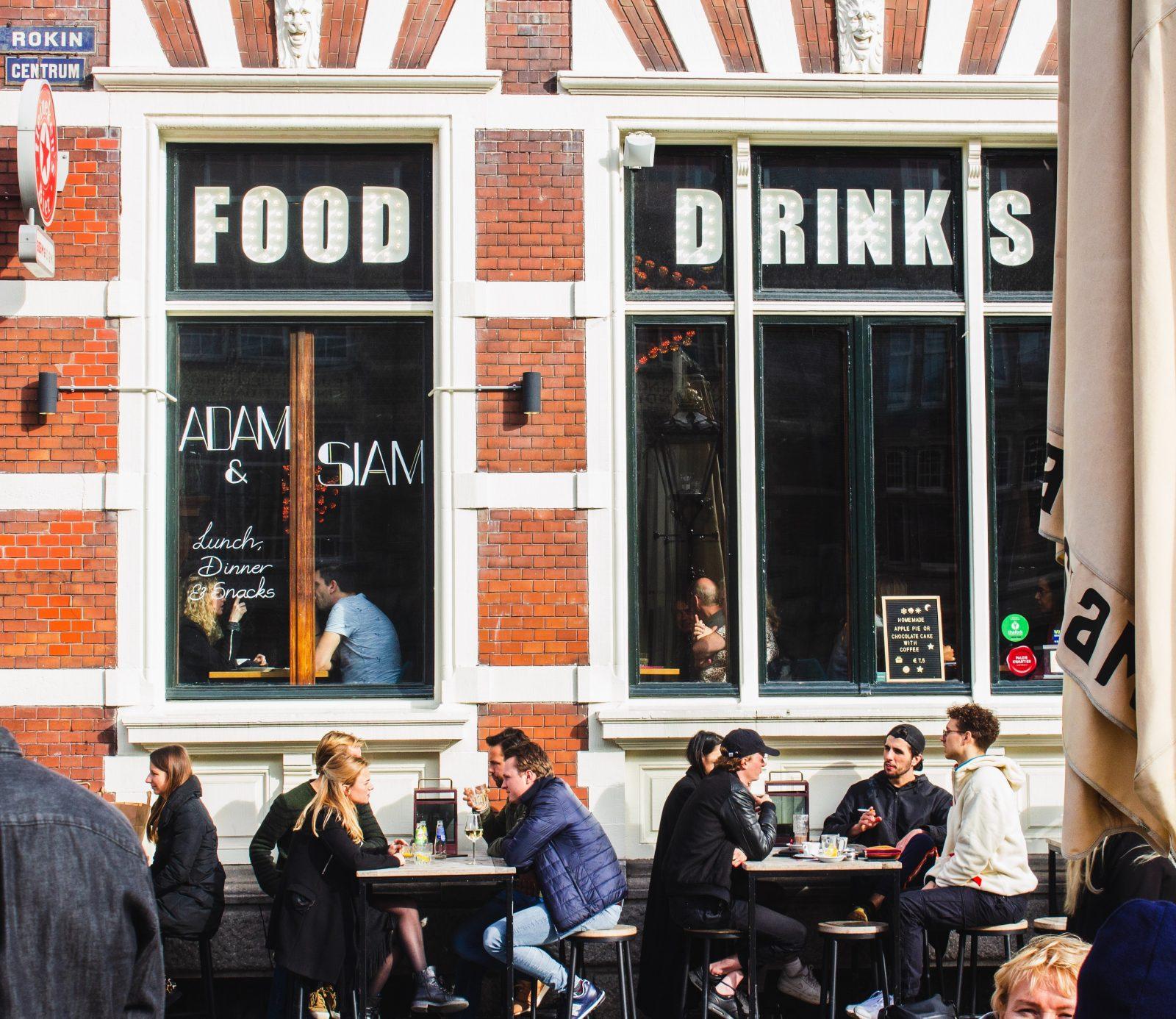 Amsterdam lunchen